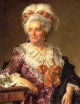 Jacques-Louis David - Portrait of Madame Pécoul, Mother-in-Law of the Artist