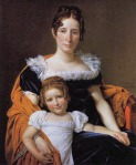 Jacques-Louis David - The Comtesse Vilain XIIII and Her Daughter