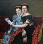 Jacques-Louis David - Zenaïde and Charlotte Bonaparte