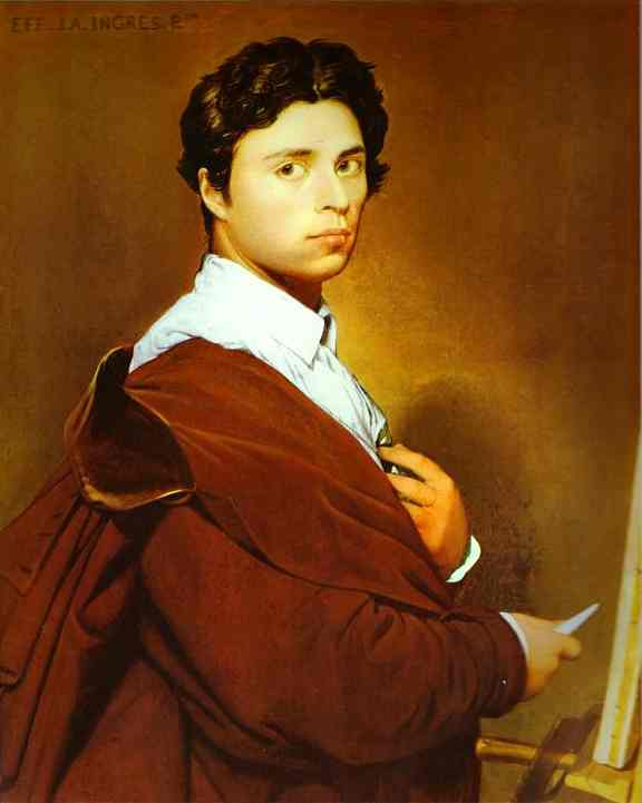 Jean-Auguste-Dominique Ingres - Self-portrait