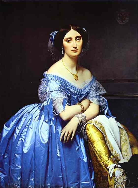 Jean-Auguste-Dominique Ingres - Portrait of Princess De Broglie