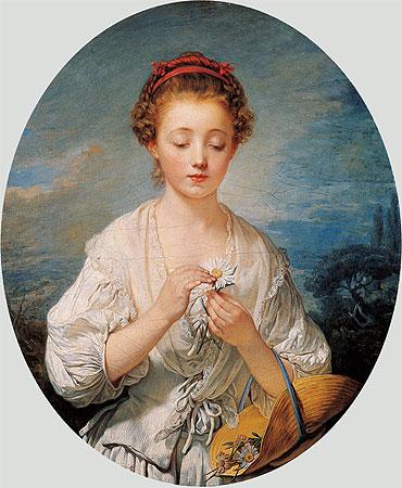 Jean-Baptiste Greuze - Simplicity