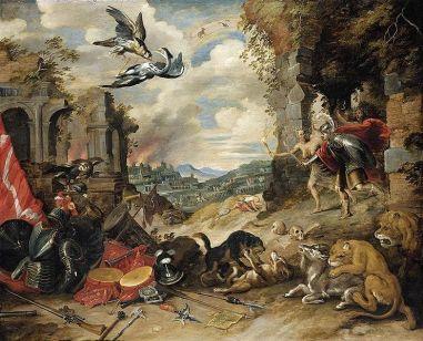 Jan Brueghel the Younger - Allegory of War,1640s