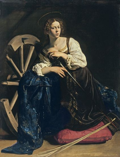 Caravaggio - Saint Catherine of Alexandria