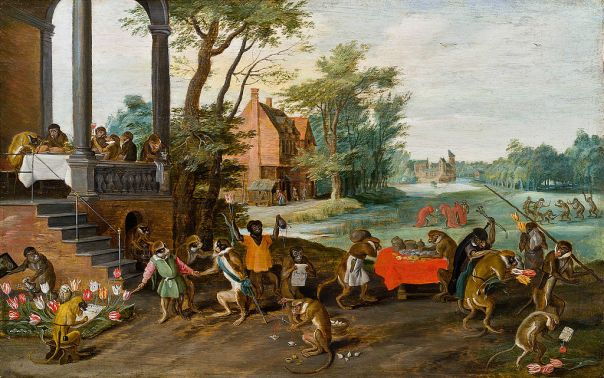 Jan Brueghel the Younger - Allegory of the Tulipomania