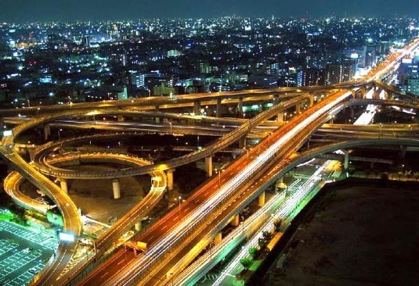 Japanese Highways, Bridges and Interchanges