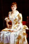 Alexandre Cabanel - Portrait Of Young Lady