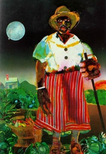 Romare Bearden 14 Sunset and Moonrise with Maudell Sleet 1978_jpg