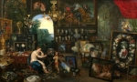Jan Brueghel the Younger - The Five Senses- Sight