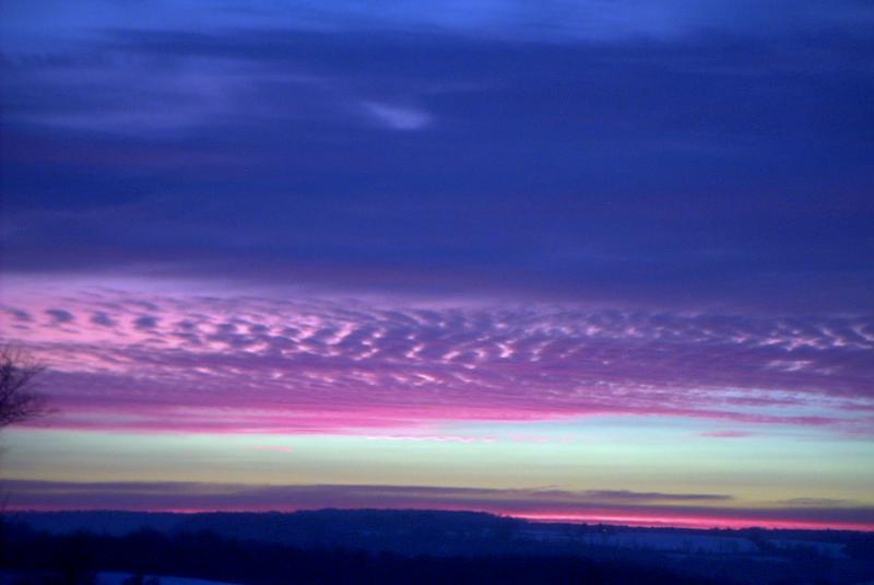 violet sunrise
