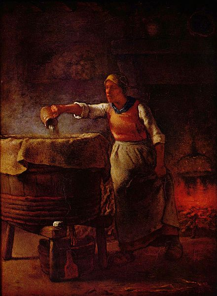 Jean-François Millet - Laundress