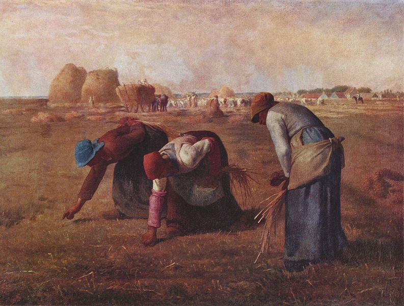 Jean François Millet - The Gleaners