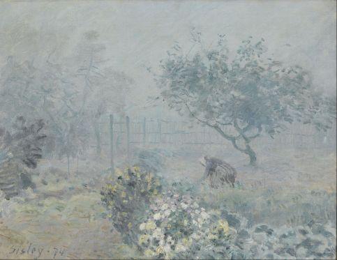 Alfred Sisley - Fog, Voisins
