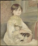 Auguste Renoir-Julie Manet(L'Enfant au chat)