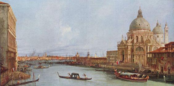 Canaletto - Santa Maria della Salute, Venice