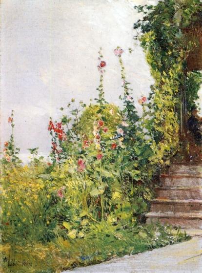 Childe Hassam - Celia Thaxter's Garden, Appledore, Isles of Shoals
