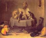 David Teniers le Jeune - Concert de chats