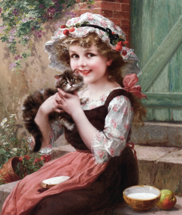 Emile Vernon - The Little Kittens