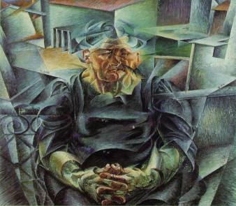 Umberto Boccioni - Horizontal Volumes