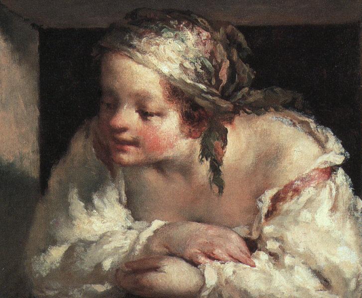 Jean François Millet - Young woman