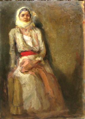 Nicolae Vermont - Fata cu basma galbena
