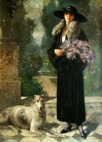 Nicolae Vermont - Portret de femeie