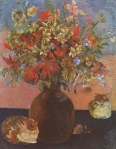 Pierre-Auguste Renoir - Geraniums and Cats