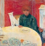 Pierre Bonnard - Woman with cat