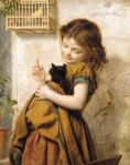 Sophie Anderson - Her favourite pets