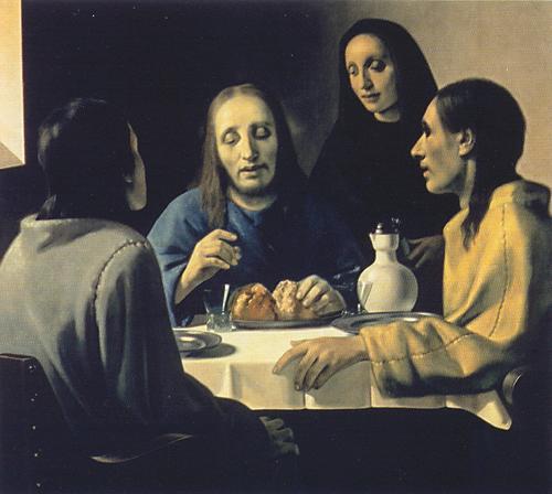 Han van Meegeren - The Supper at Emmaus by Han van Meegeren