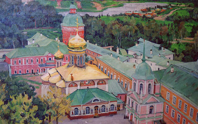 Konstantin Yuon - Trinity Church