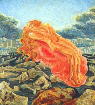 Umberto Boccioni - Il sogno o Paolo e Francesca