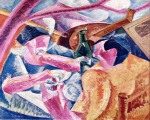 Umberto Boccioni - Unter der Pergola in Neapel