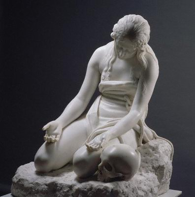Antonio Canova - Penitent Magdalen,1809