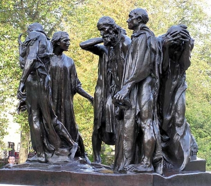 Auguste Rodin-Burghers of Calais