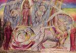 William Blake - Beatrice Addressing Dante