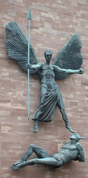 Jacob Epstein-St Michael's Victory over the Devil