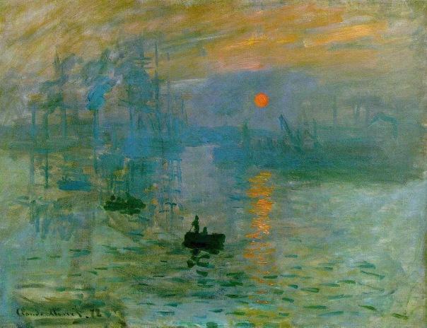 Claude Monet – Impression,soleil levant