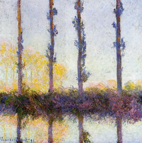 Claude Monet - Four Trees