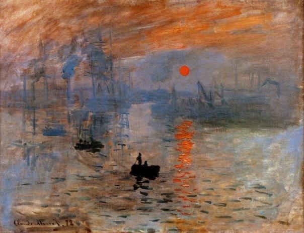 Claude Monet - Impression, Sunrise