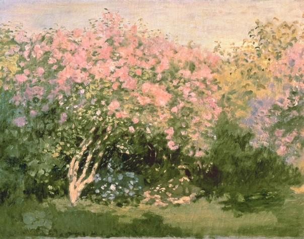 Claude Monet - Lilac in the Sun