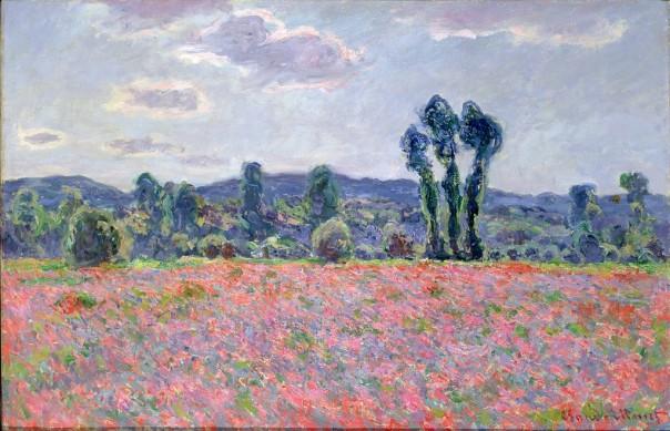 Claude Monet - Poppy Field (1887)