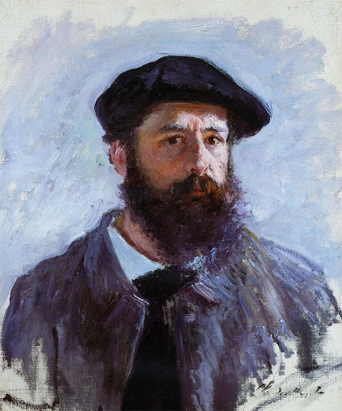 Claude Monet - Self Portrait with a Beret