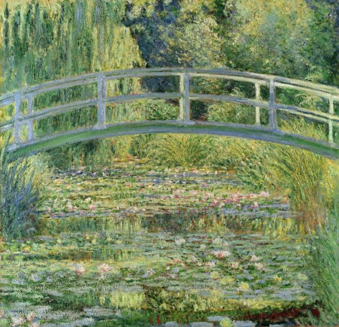 Claude Monet - The Water-Lily Pond, 1899