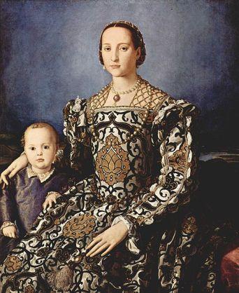 Agnolo Bronzino - Eleanor of Toledo