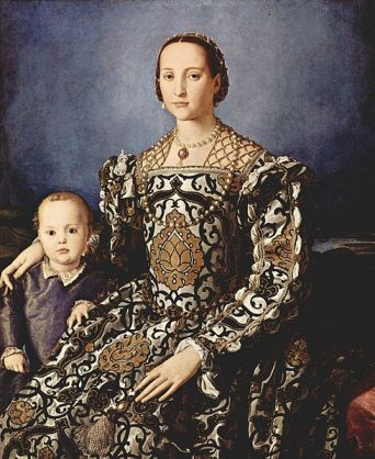 Agnolo Bronzino - Eleanor of Toledo