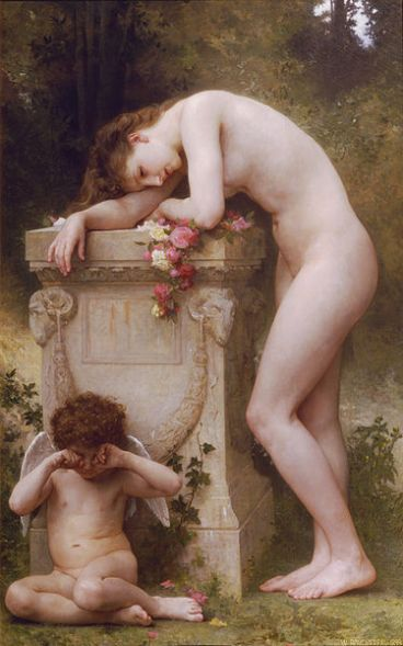 William-Adolphe Bouguereau – Elegy
