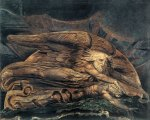 William Blake - Elohim Creating Adam