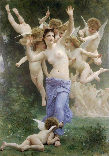 William-Adolphe Bouguereau – Invation