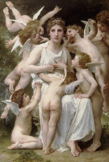 William-Adolphe Bouguereau – Lassaut